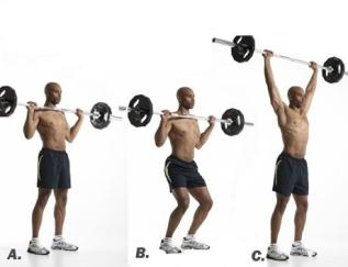 barbell-push-press