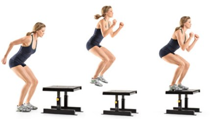 Image result for box step exercise